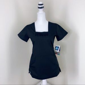 Adar NWT XXS Contemporary Fit Scrub Uniform Top